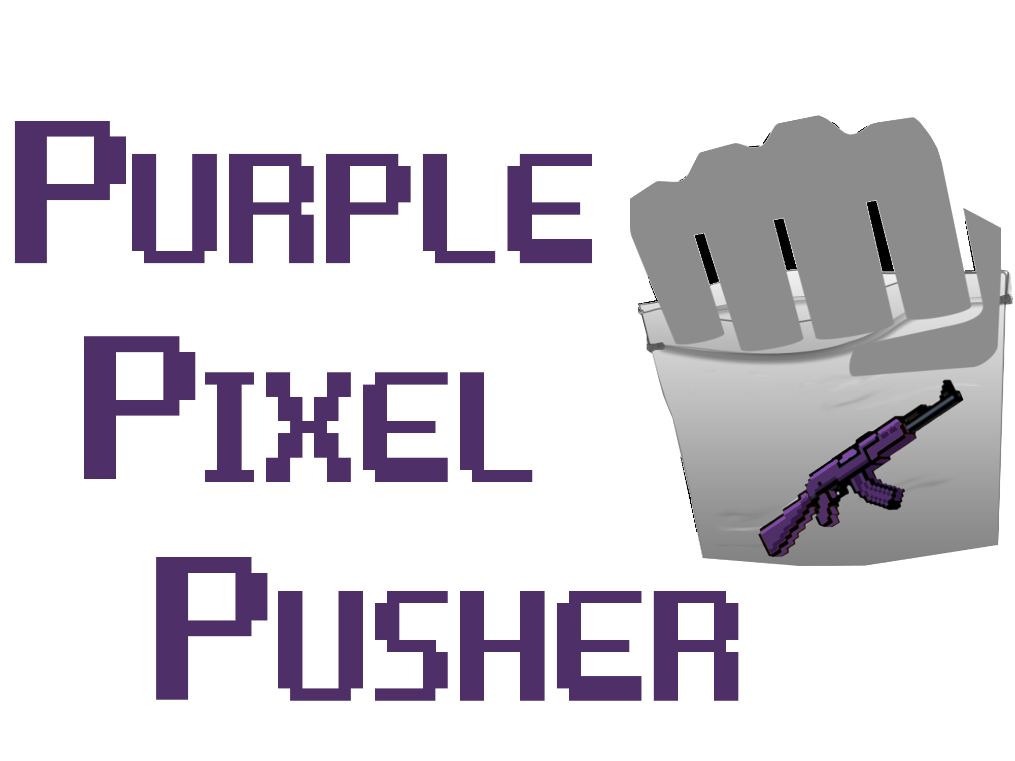Purple Pixel Pusher